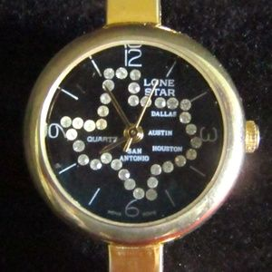 Accessories - Rhinestone Lonestar state ladies wristwatch NWOT